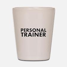 Personal Trainer Black/White Shot Glass
