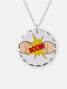 Fist Bump BOOM! Necklace