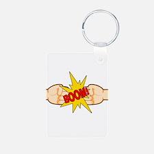 Fist Bump BOOM! Keychains