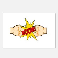 Fist Bump BOOM! Postcards (Package of 8)