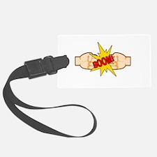 Fist Bump BOOM! Luggage Tag