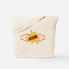 Fist Bump BOOM! Tote Bag