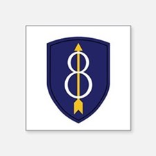 8th Infantry Division Sticker