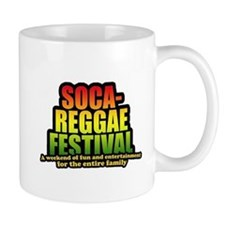 logo socca reggae festival Mug