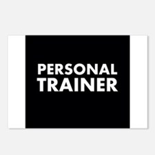 Black/White Personal Trainer Postcards (Package of