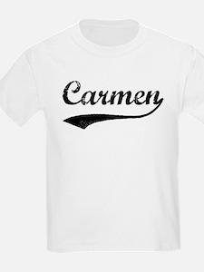 Vintage: Carmen Kids T-Shirt