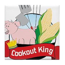 Cookout King Tile Coaster