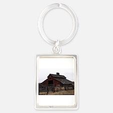 Red Barn Portrait Keychain