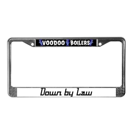 Down by Law License Plate Frame
