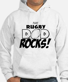 This Rugby Dad Rocks copy.png Hoodie