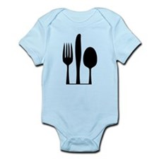 Silverware Infant Bodysuit