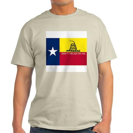 TEXAS DON'T TREAD ON ME Light T-Shirt