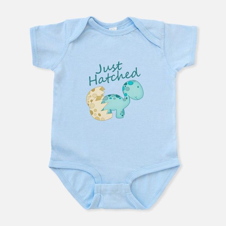 Just Hatched! Baby Dinosaur Infant Bodysuit