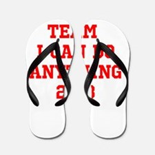 Team I can do Anything Flip Flops