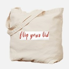 Flip Your Lid Tote Bag