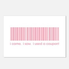 I CAME, I SAW... Postcards (Package of 8)