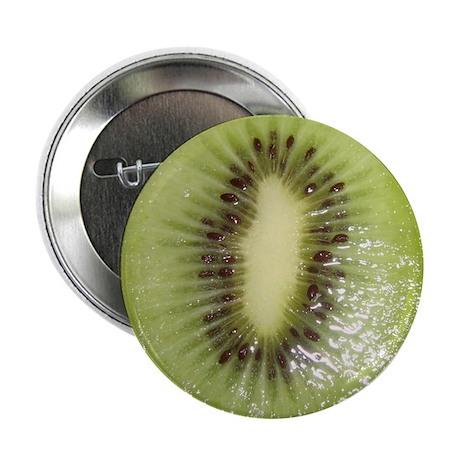 """Kiwi Slice 2.25"""" Button"""