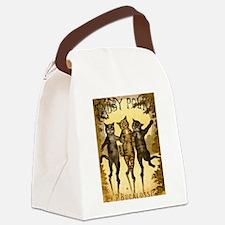 Tabby Polka Canvas Lunch Bag