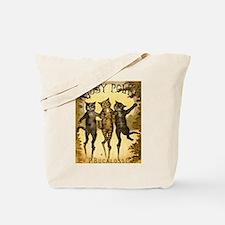Tabby Polka Tote Bag