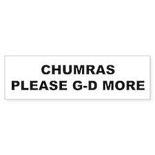 Chumras Bumper Sticker