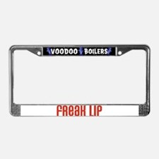 Freak Lip License Plate Frame
