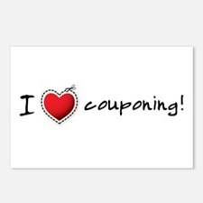 I <3 COUPONING! Postcards (Package of 8)
