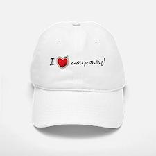 I <3 COUPONING! Baseball Baseball Cap