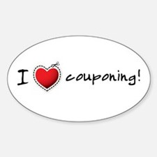 I <3 COUPONING! Decal
