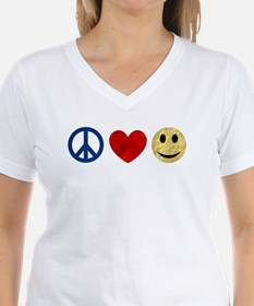 Peace Love Happiness Shirt