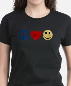 Peace Love Happiness Tee