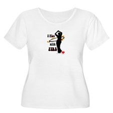 I play with fire silhouette T-Shirt