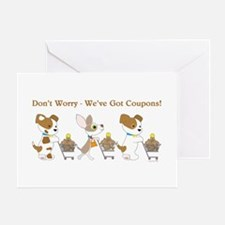 DON'T WORRY... Greeting Card