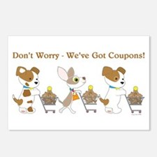 DON'T WORRY... Postcards (Package of 8)