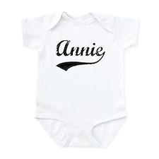 Vintage: Annie Infant Bodysuit