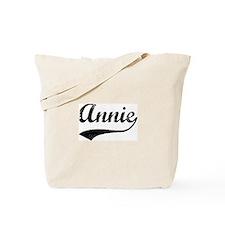 Vintage: Annie Tote Bag