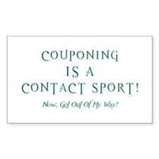 COUPONING IS A... Decal