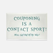COUPONING IS A... Rectangle Magnet