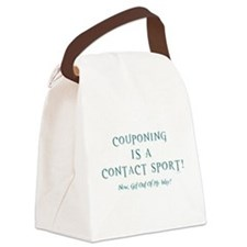 COUPONING IS A... Canvas Lunch Bag