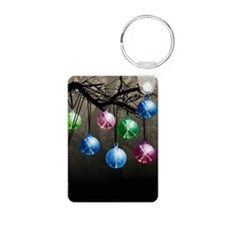 Witchballs On Branch Keychains