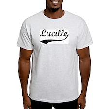 Vintage: Lucille Ash Grey T-Shirt