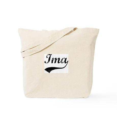 Vintage: Ima Tote Bag