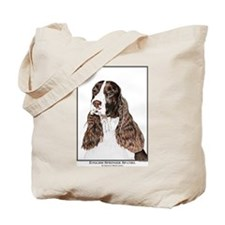 English Springer Spaniel Art Tote Bag