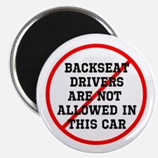 Backseat Driver Magnet