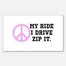 Backseat Drivers 2 Decal