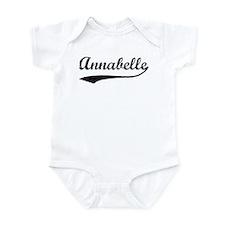 Vintage: Annabelle Infant Bodysuit