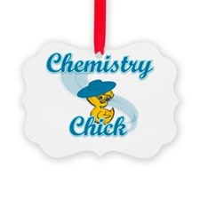 Chemistry Chick #3 Picture Ornament