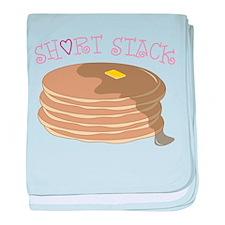 Short Stack baby blanket