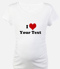 Customized I Love Heart Shirt