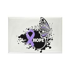Hope General Cancer Rectangle Magnet