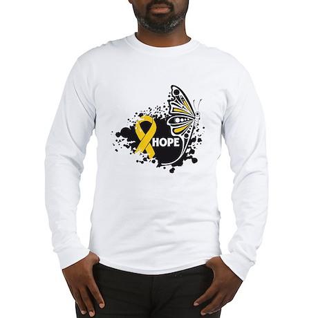 Hope Childhood Cancer Long Sleeve T-Shirt